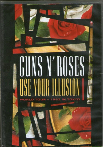 dvd guns'n roses - use your illusion 1 - novo***
