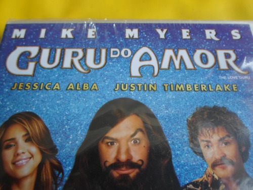 dvd guru do amor / mike myers - jessica alba - timberlake