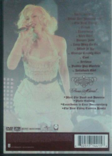 dvd gwen stefani lovers live