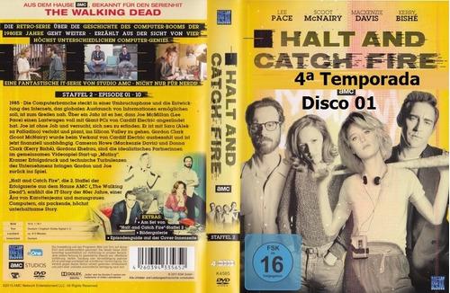 dvd - halt and catch fire -  as 4 temporadas -legendado
