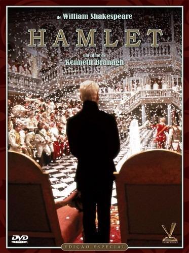 dvd hamlet, de kenneth branagh, julie christie 2 dvds 1981 +