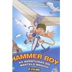 dvd - hammer boy - as aventuras do martelo mágico