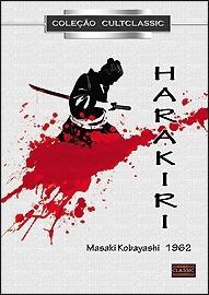 dvd harakiri, de m. kobayashi, com tatsuya nakadai - 1962 +