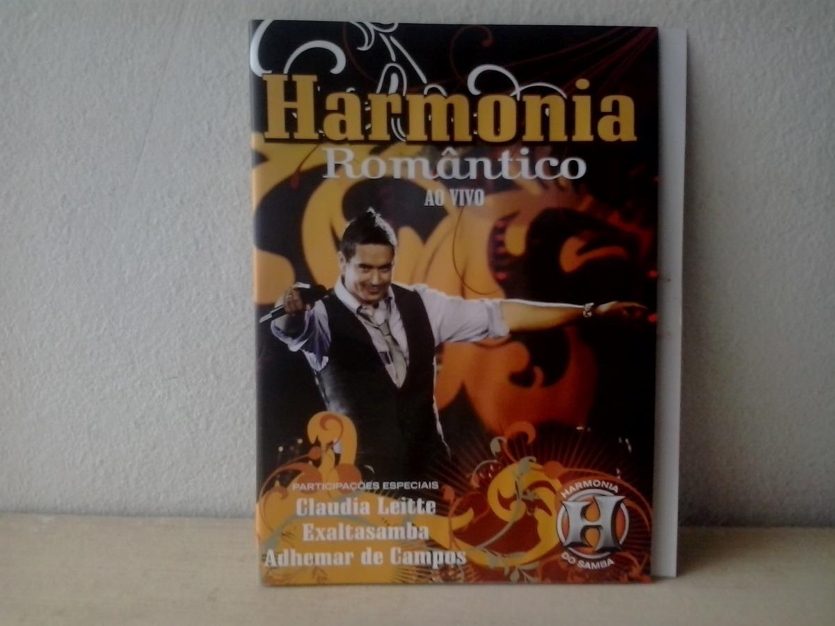 dvd de harmonia do samba romantico
