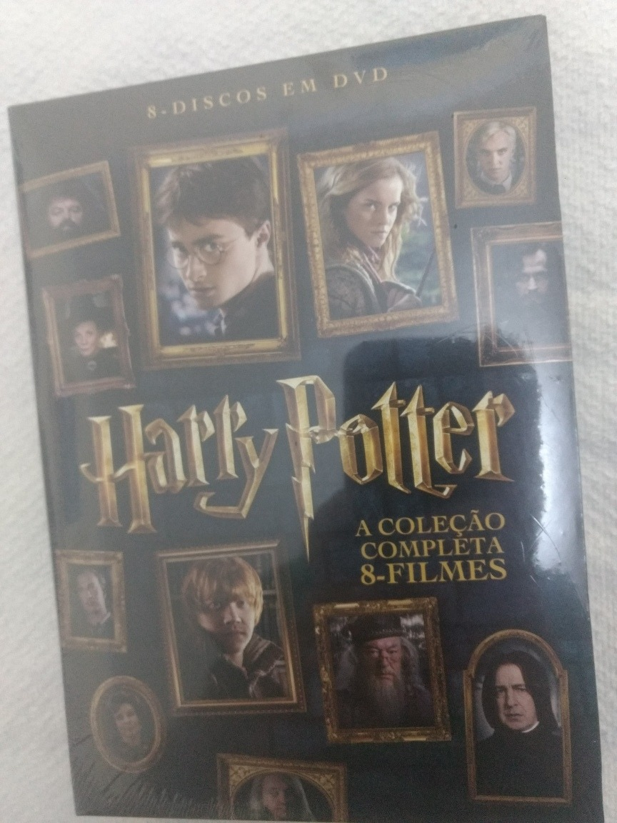 Dvd Harry Potter 1 2 3 4 5 6 7 8 Colecao Completa Original