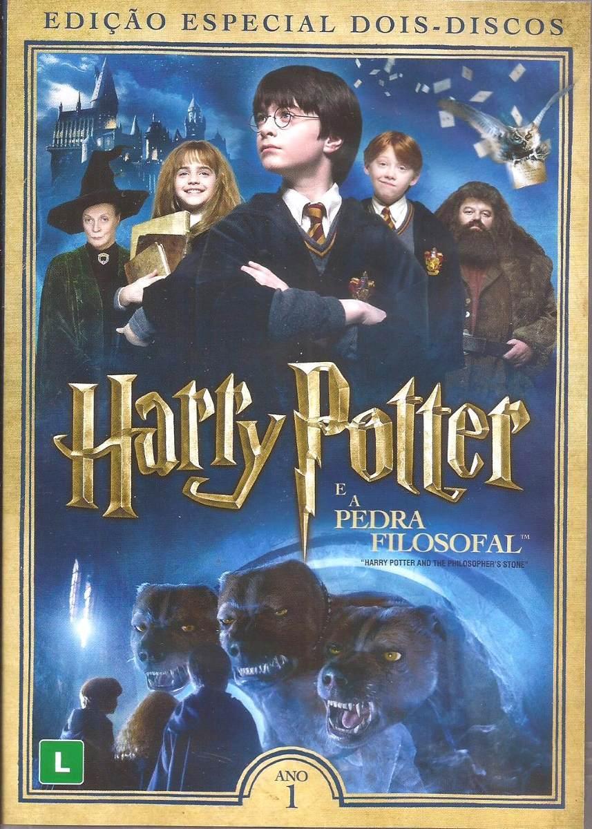 Harry Potter É A Pedra Filosofal intended for dvd harry potter e a pedra filosofal 2 disco edicao especial - r