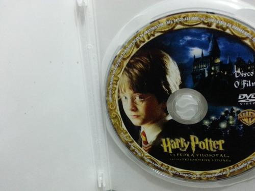 dvd - harry potter e a pedra filosofal