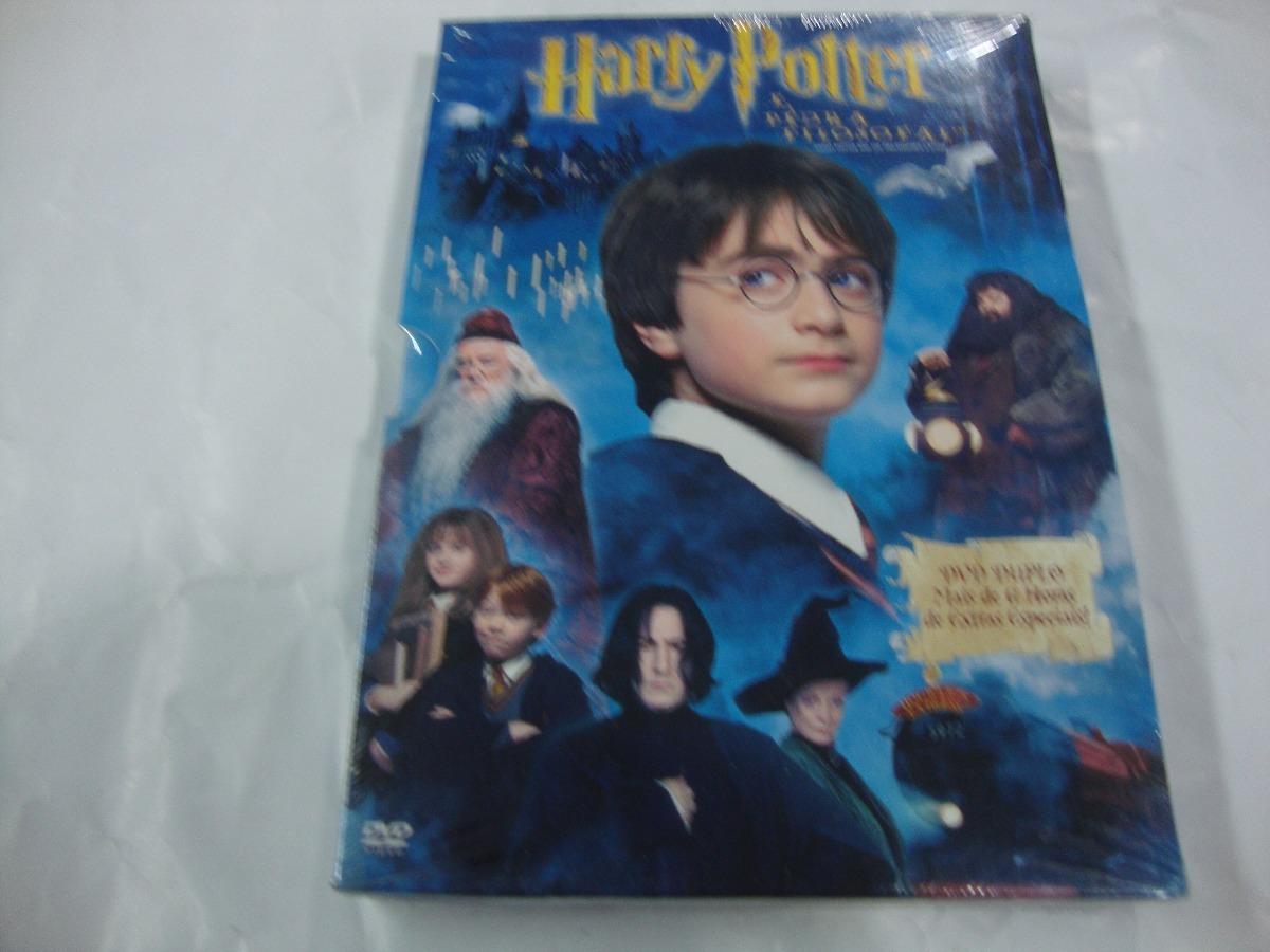 Harry Potter É A Pedra Filosofal inside dvd : harry potter e a pedra filosofal - duplo enluvado orig - r