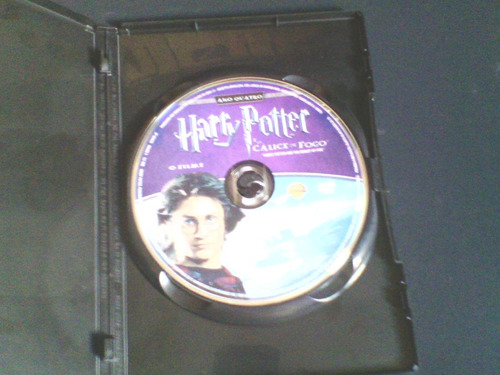 dvd harry potter e o cálice sagrado