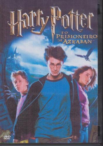 dvd harry potter e o prisioneiro de azkaban - novo e sem uso