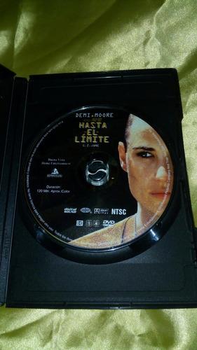 dvd hasta el limite