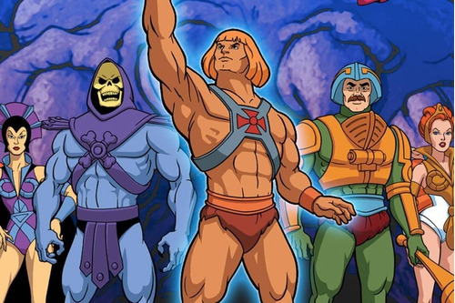 dvd he-man - completo