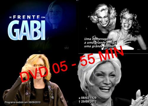 dvd hebe camargo - cobertura sobre o falecimento da artista