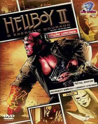 dvd hellboy 2 - edição limitada - original lacrado