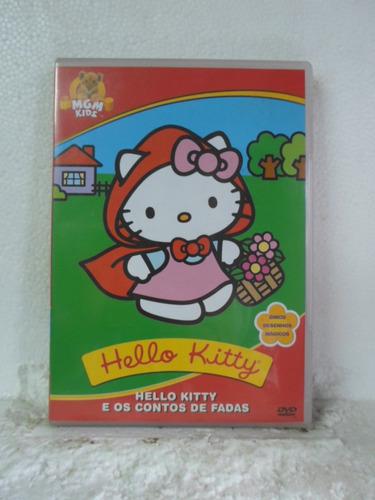 dvd hello kitty - e os contos de fadas - original