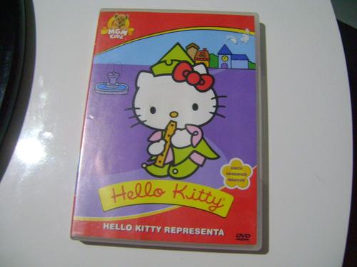 dvd hello kitty hello kitty representa 5 desenhos magicos