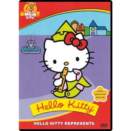 dvd hello kitty - representa