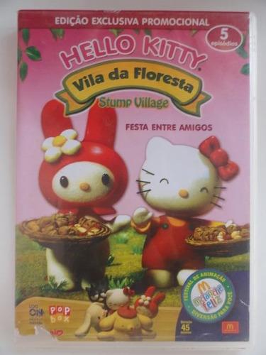 dvd hello kitty vila da floresta festa entre amigos original