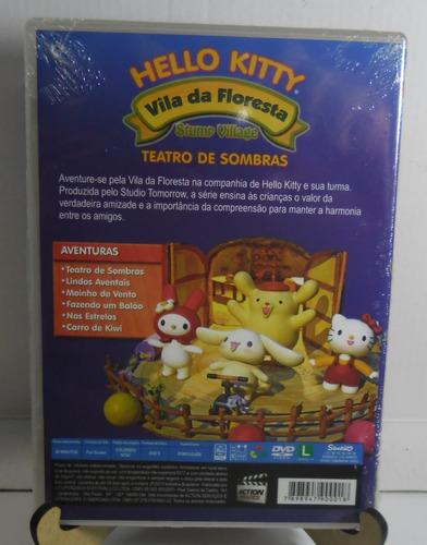dvd : hello kitty - vila da floresta - teatro de sombra