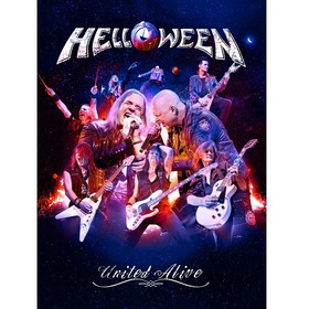 Dvd Helloween United Alive In Madrid - Triplo!!! Novo!!!
