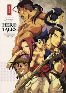 dvd hero tales - complete box set