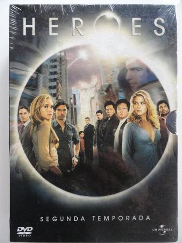 dvd heroes - 2ª temporada  - novo lacrado