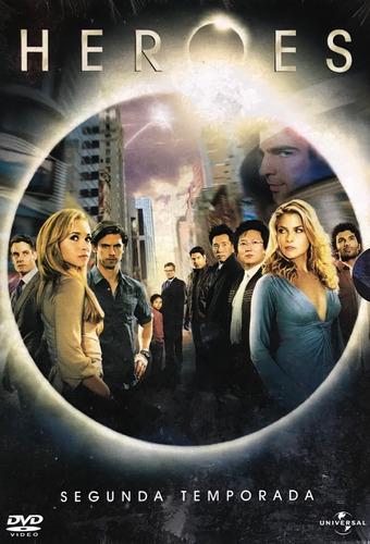 dvd heroes  2ª temporada  - original novo lacrado