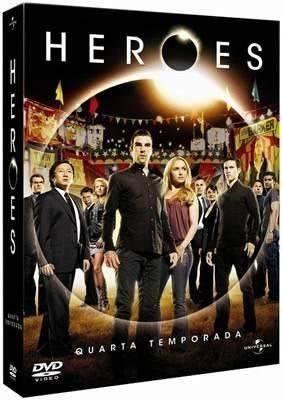 Dvd Heroes 4ª Temporada Completa - R$ 120,88 em Mercado Livre