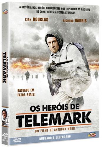 dvd heróis de telemark  kirk douglas richard harris  1965  +