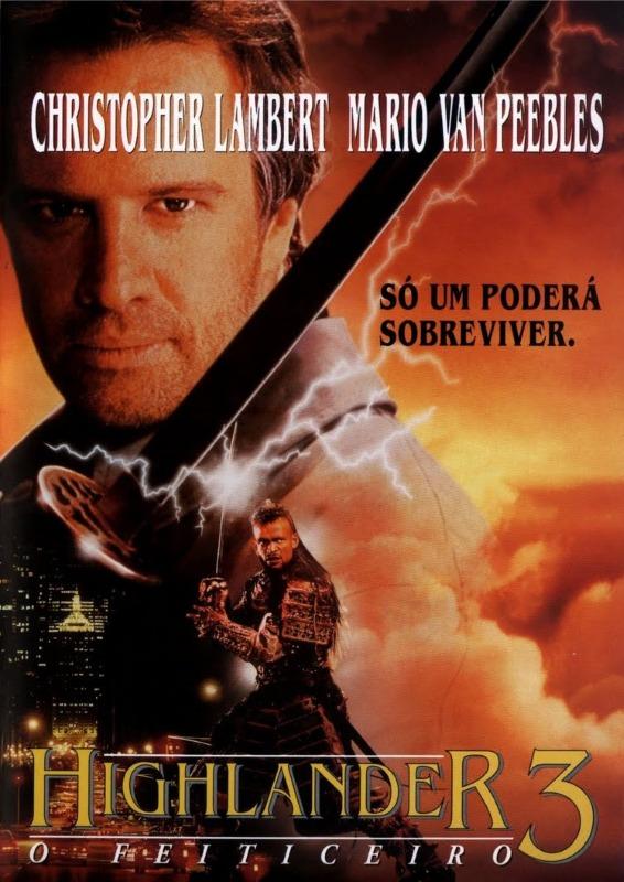 Dvd - Highlander 3 - O Feiticeiro - Edição Com Dublagem - R$ 85,00 ...
