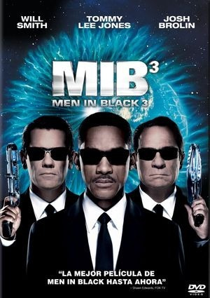 dvd hombres de negro 3- pelicula