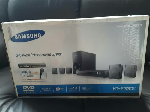 dvd home theater karaoke ht-e330k samsung