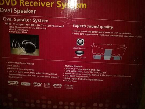 dvd home theater lg 5.1