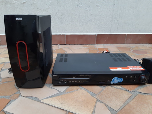 dvd home theater philco pht660n hdmi  semi completo funciona
