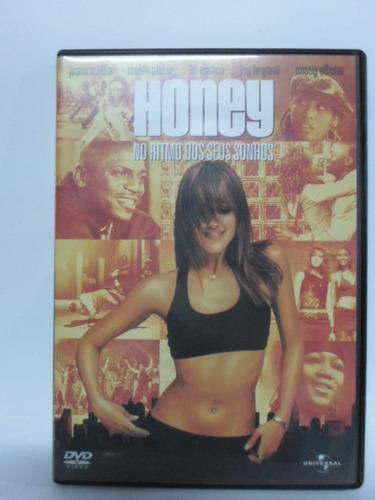 dvd honey - no ritmo dos seus sonhos - frete 8,00