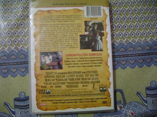 dvd hoor a volta do capitao gancho e3b5