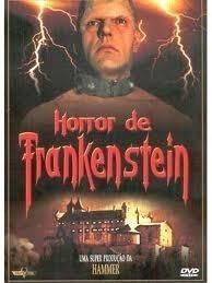 dvd horror de frankstein - hammer -