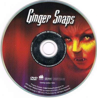 dvd horror gore feroz 1 ginger snaps hombre lobo tampico