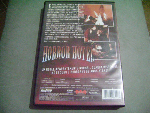 dvd horror hotel christopher lee venetia stevenson