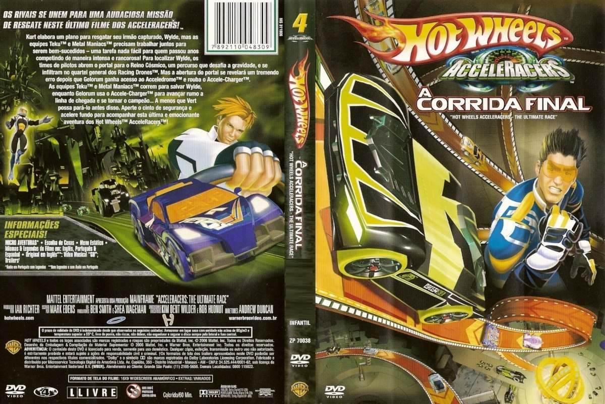 Filme Do Hot Wheels intended for dvd hot wheels acceleracers a corrida final - original novo - r