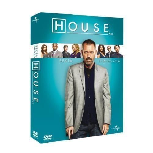 dvd - house 6ª temporada completa