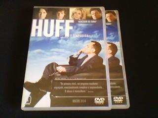 dvd  huff - 1ª temporada competa  (4 dvds)