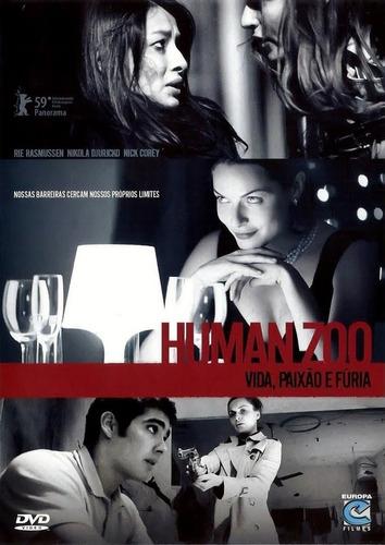 dvd humanzoo - vida, paixão e fúria