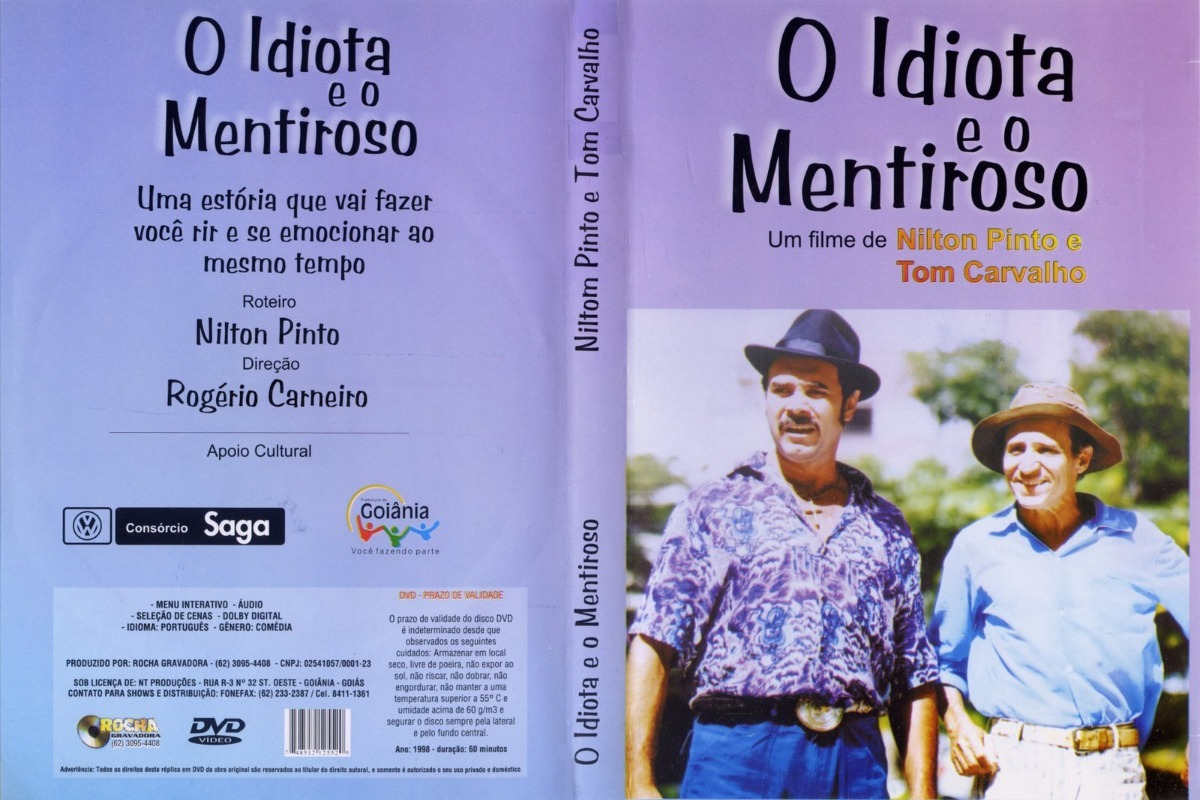 dvd o idiota e o mentiroso