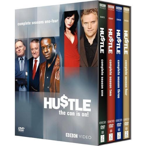 dvd hustle hu$tle temporadas 1 a 4 importada