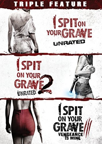 dvd : i spit on your grave triple feature (dvd)