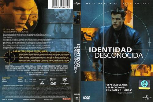 dvd identidad desconocida the bourne identity matt damon
