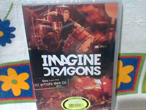 dvd image dragons @ live  (lacrado)