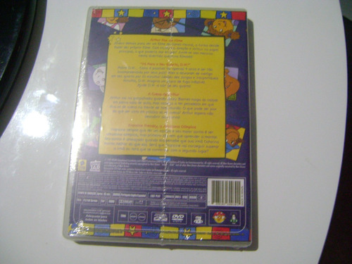 dvd  imaginando com arthur  lacrado