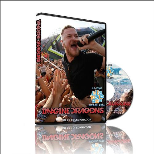 dvd imagine dragons ao vivo lollapalooza brasil 2014